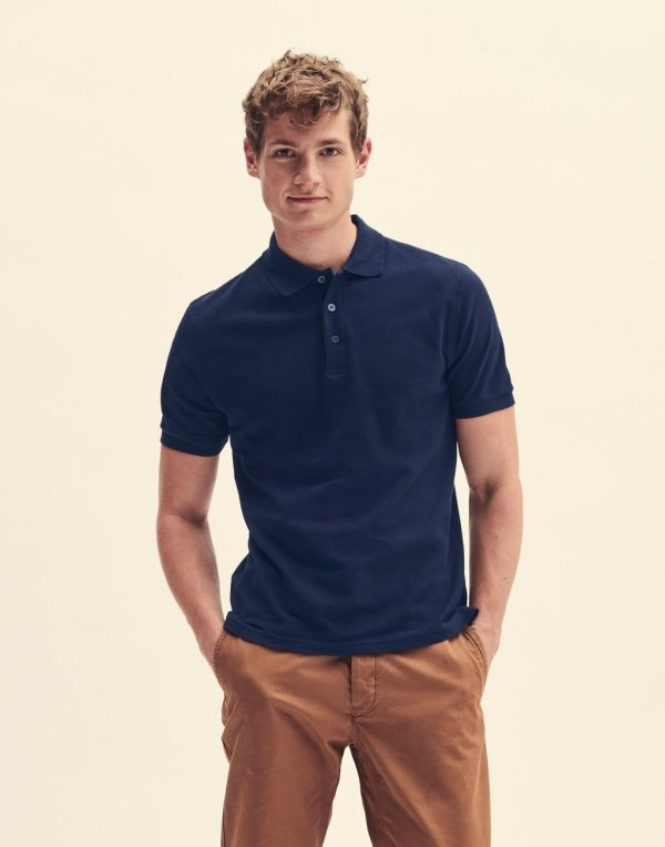 Tricou Polo Iconic, Fruit of the Loom