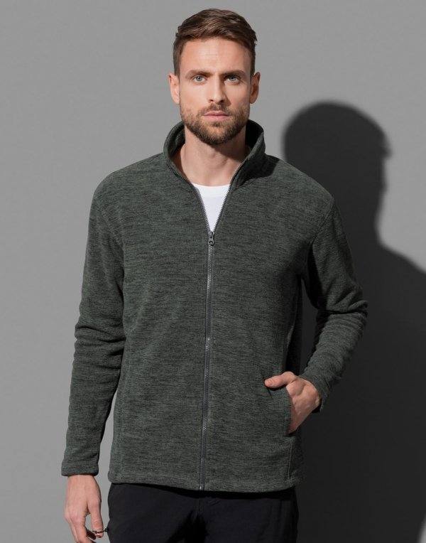 Jacheta Barbati, Melange Fleece, Stedman Active