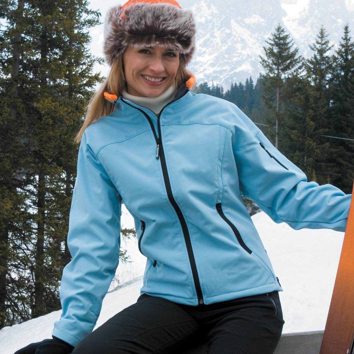 Jacheta Ladies Softshell, Result