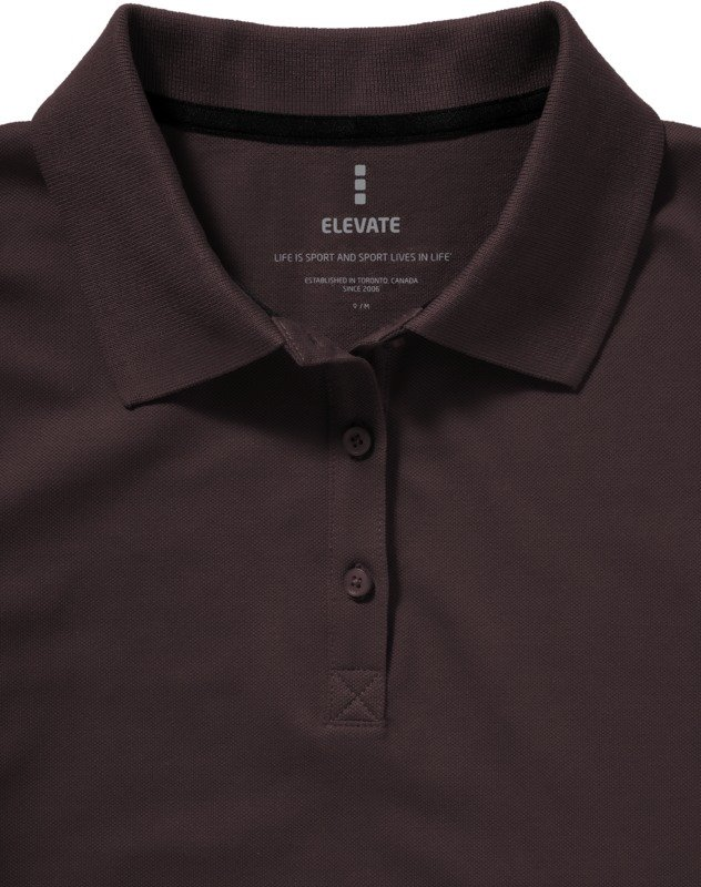 Tricou Polo Dama, Elevate Seller, Chocolate, S