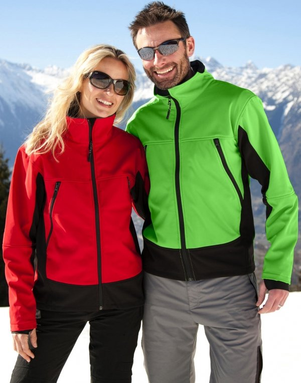Jacheta Softshell Unisex, Result Activity