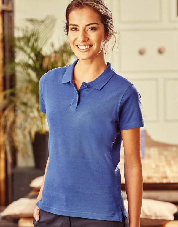 Tricou Polo Damă, Russell Ultimate Cotton