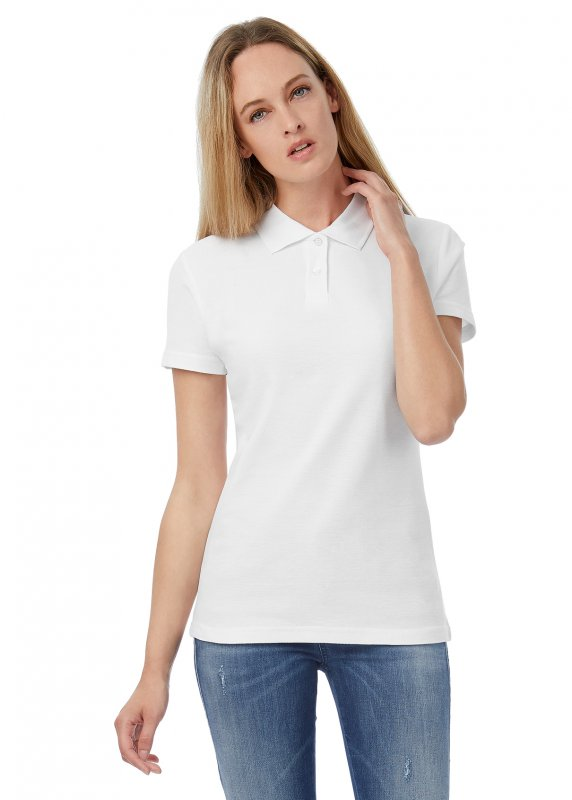 Tricou Polo Dama ID.001, B&C Collection